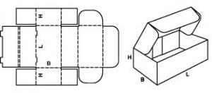 Гофрокороб с ушками 1